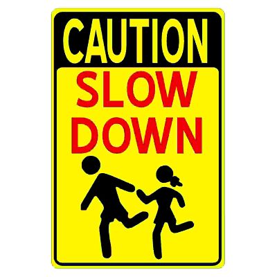 caution-slow-down