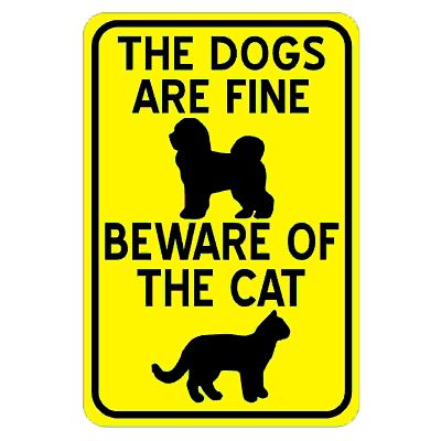 dogs-are-fine-beware-of-cat
