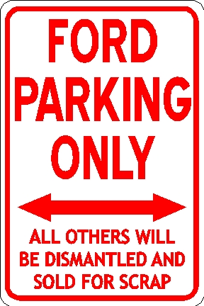 ford-parking-only