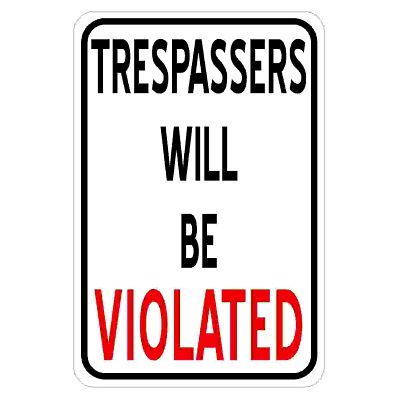 trespassers-will-be-violated