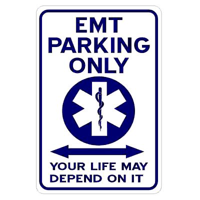 emt-parking-only